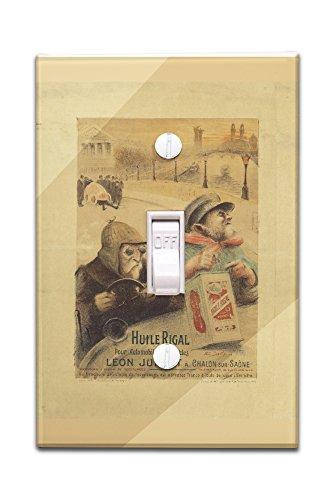 huile-rigal-vintage-poster-artist-dorville-france-c-1904-light-switchplate-cover