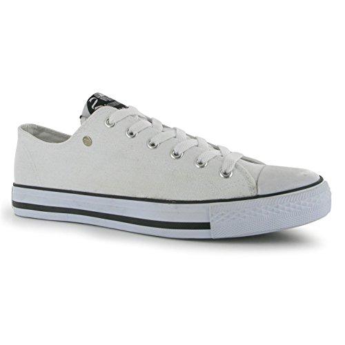 Dunlop - Zapatillas de casa Hombre Blanco - blanco
