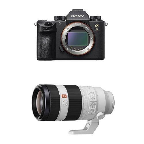 Sony a9 Full Frame Mirrorless Interchangeable-Lens Camera w/ SEL100400GM F4.5–5.6 OSS Telephoto Lens