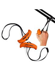 LARA STAR Upgraded Heavy Duty Exercise Handles Training Grip Strength Sling Trainer for Cable Machines, Resistance Bands, Pull-up Bars, Barbells and Pulling Machines