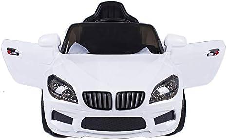 ATAA CARS Coche eléctrico niños con Mando y batería 12v Estilo X5 12v Coche eléctrico para niños Barato - Blanco