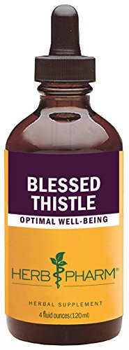 Herb Pharm Certified Organic Blessed Thistle Extract - 4 Ounce Blessed Thistle Herb Extract
