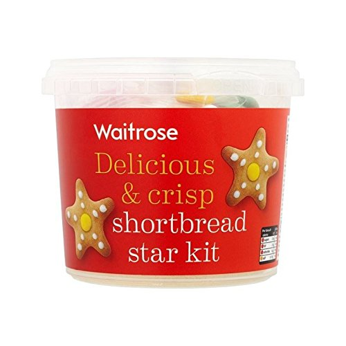 Shortbread Star Biscuits Kids Kit Waitrose 270g - Pack of 6 by WAITROSE