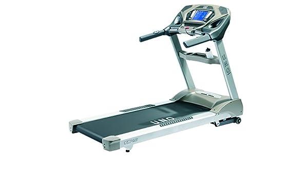 UNO Fitness Adultos TR 4.0 Cinta de Correr, Plata Gris, S: Amazon ...