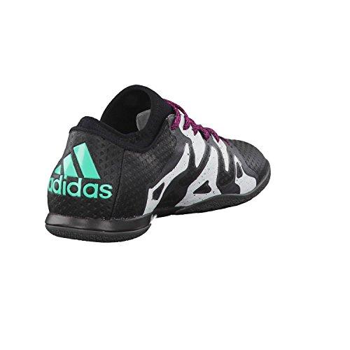 Adidas X 15+ Primeknit Domstol Mens Fotbollsskor Fotbollsskor (oss 8,5, Svart Vit Aq3921)