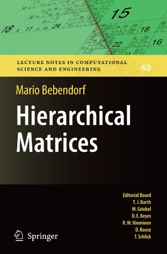 Hierarchical Matrices: A Means to Efficiently Solve Elliptic Boundary Value Problems (Lecture Notes in Computational Science and Engineering) by Mario Bebendorf