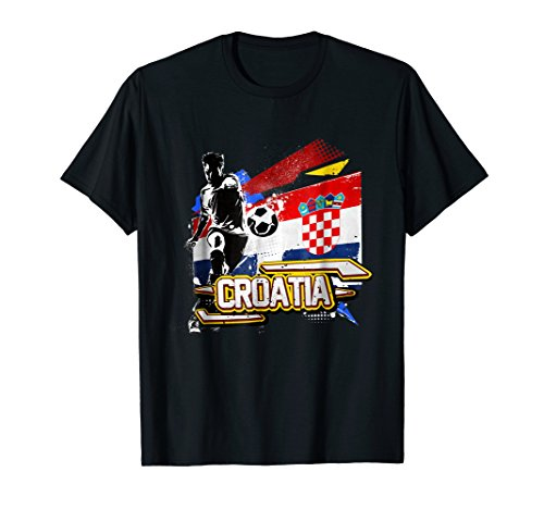 - Croatia Soccer Shirt 2018 Football Jersey Croatian Fan Gift