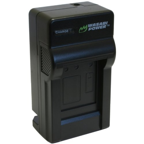 Wasabi Power Battery Charger for Panasonic VW-BC10, VW-BC10PP, VW-VBK180, VW-VBK360, VW-VBL090, VW-VBT190, VW-VBT380, VW-VBY100