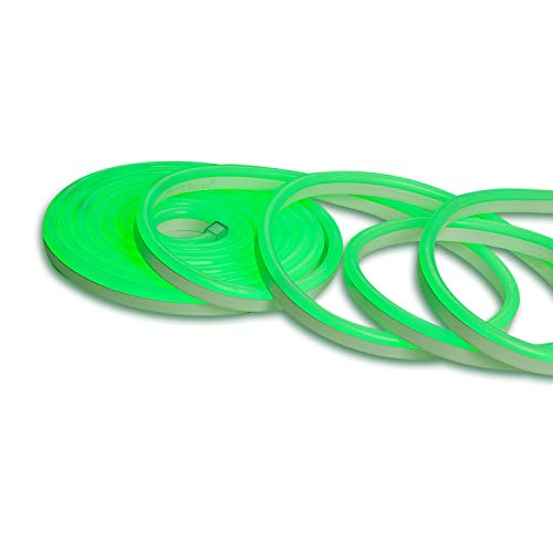 Neon Green Led Rope Lights in US - 4