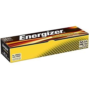 Amazon.com: Energizer Industrial AA Alkaline Batteries, 24
