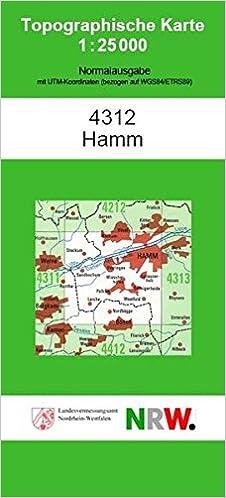 Hamm Karte.Hamm N Topographische Karten 1 25000 Tk 25 Nordrhein Westfalen