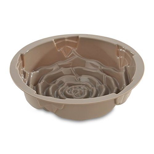 Buy berghoff studio silicone rose cake mold