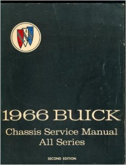1966 Buick Chassis Service Manual All Series PDF