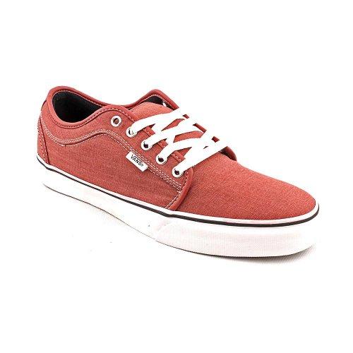 Vans メンズ US サイズ: 7.5 D(M) US カラー: レッド