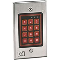 Linear 232W LLC Indoor/Outdoor Flush Mount Weather Resistant Keypad, 12 to 24 V, 1.80Width, 2.5Height
