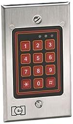 Linear 232W LLC Indoor/Outdoor Flush Mount Weather Resistant Keypad, 12 to 24 V, 1.80\