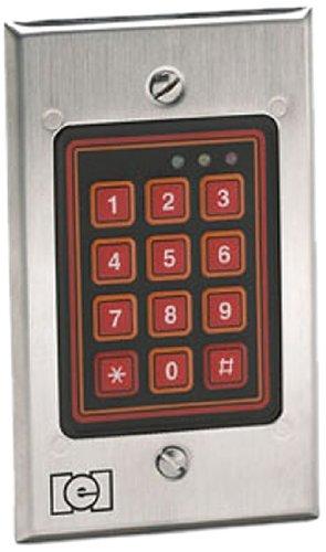 Linear 232W LLC Indoor/Outdoor Flush Mount Weather Resistant Keypad, 12 to 24 V, 1.80
