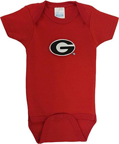 Georgia Bulldogs Baby Onesie
