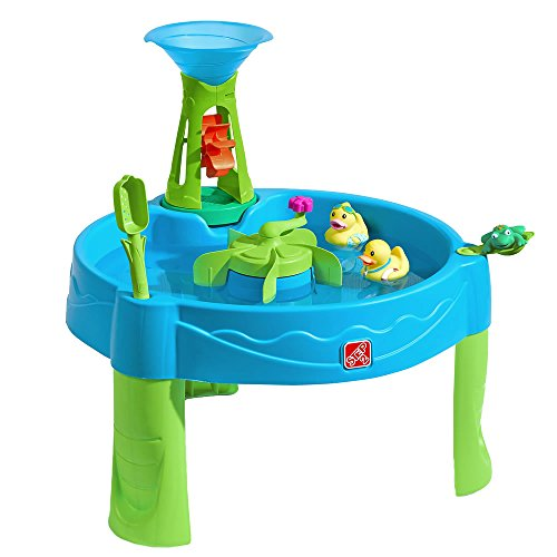 Diva Tile Coaster - Step2 Duck Dive Water Table | Kids Water Table with Water Tower & 5-Pc Accessory Set