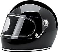 Biltwell Gringo S Solid Full-face Motorcycle Helmet - Gloss Black / Medium from Biltwell