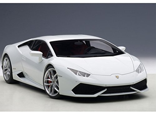 Lamborghini Huracan Lp610 4 Bianco Icarus Metallic White 1 18 By