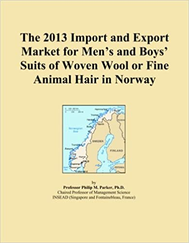 Book The 2013 Import and Export Market for Men's and Boys' Suits of Woven Wool or Fine Animal Hair in Norway