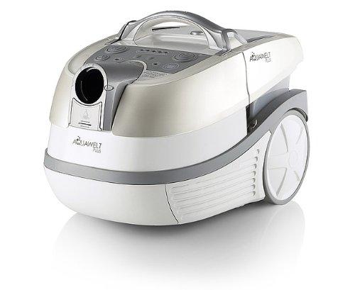 Zelmer 7920Cylinder Vacuum Cleaner 3L Vacuum 1500W Silver, White-(Cylinder Vacuum, Dry & Wet, Home, Silver, White, HEPA, Water, Dust Bag)