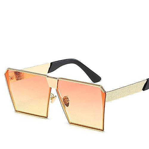 Hombres De Yellow The Sol Sol Gafas Y Retro Con De Orange WHLDK Hd Gafas De Sol Mujeres Estilo Gafas xvwR1UfqS6