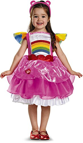 Disguise Cheer Bear Deluxe Tutu Costume  Large  4 6X