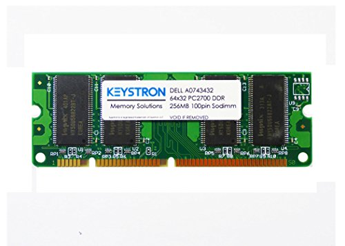 256MB Memory for Dell Laser Printer 2330DN 5210N 5310N (DELL P/N: A0743432) ()