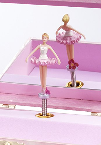 Ballerina Treasure Music Box