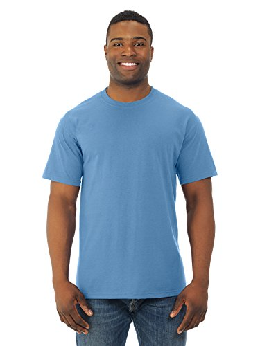 Fruit of the Loom Men's Short Sleeve Crew Tee, Small  - Columbia Blue ()