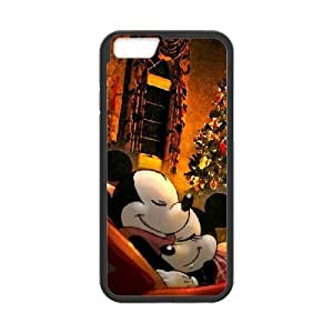 iPhone6 Plus 5.5 inch Phone Case Black Disney Mickey Mouse Minnie Mouse VMN8159673