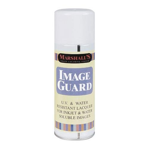 Marshall Electronics Image Guard Ultra Violet ( UV ) Spray, Protects Images from Fading, 11oz - Protective Inkjet Spray