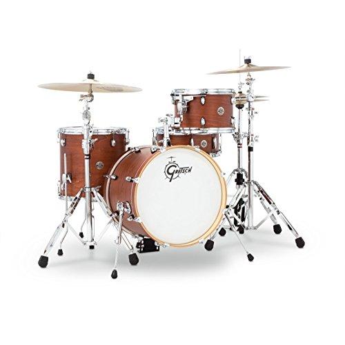 Gretsch CT1J484SWG 2014 Catalina Club Jazz 4-Piece Shell Pack - Satin Walnut Glaze ()