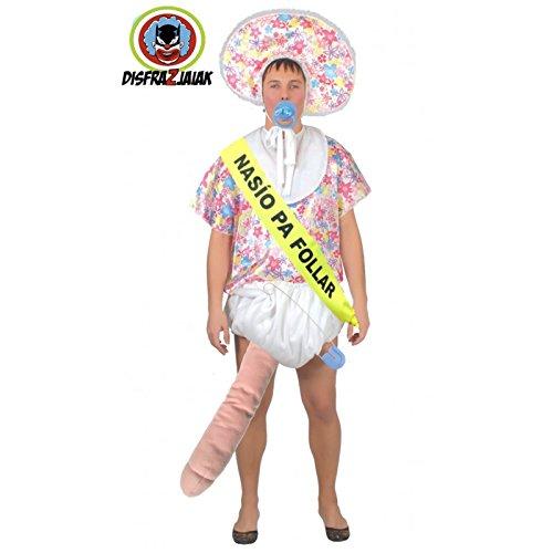 Disfraz Despedidas de Soltero de Bebe Superdotado: Amazon.es: Juguetes y juegos