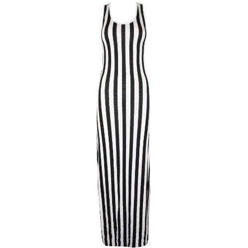 Pure Fashion - Vestido - para mujer negro