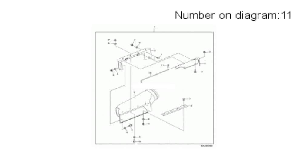 John Deere Original Equipment Spring Locking Pin #99M7029