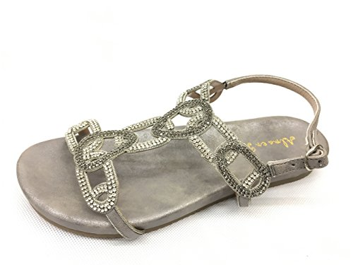 In For Pena Grigio Women Sandals Alma 08HZSn7Hq