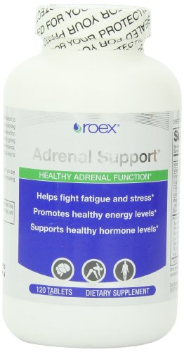 Roex Adrenal Support Formula Comprimés, 120 comte
