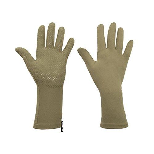 Foxgloves Grip Gloves (Moss Green, Medium)