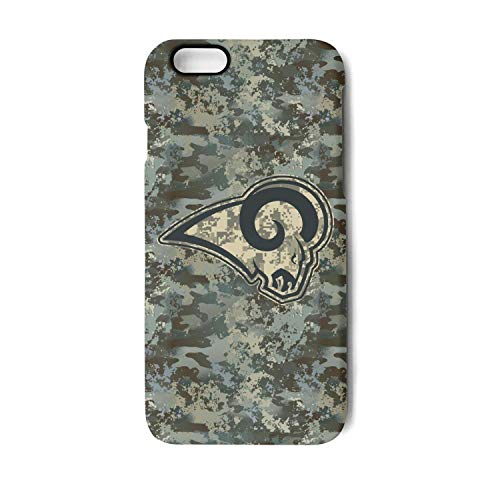 (Camouflage Camo Phone Case for iPhone 7 Plus/Iphone8 Plus Fashionable Non-Slip Matte 3D Printed PC TPU Shockproof Anti-Fingerprint Back Cover for Football)