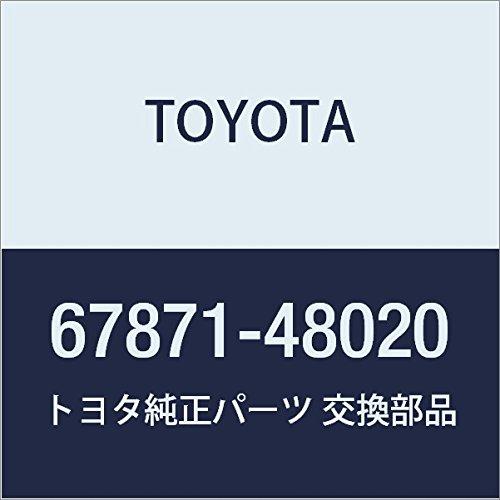 TOYOTA Genuine 67871-48020 Door Weatherstrip