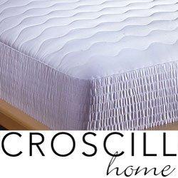 Croscill 400 Thread Count Pima Cotton Mattress Pad, Size King (C287OS) by Croscill