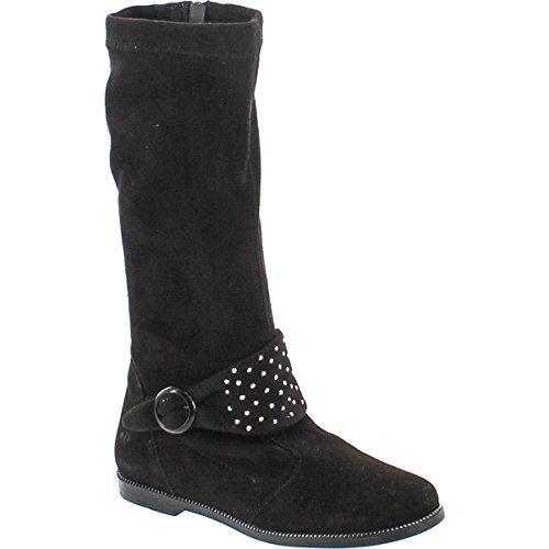 (Primigi Girls Friesia Fashion Suede Boots,Black,35)