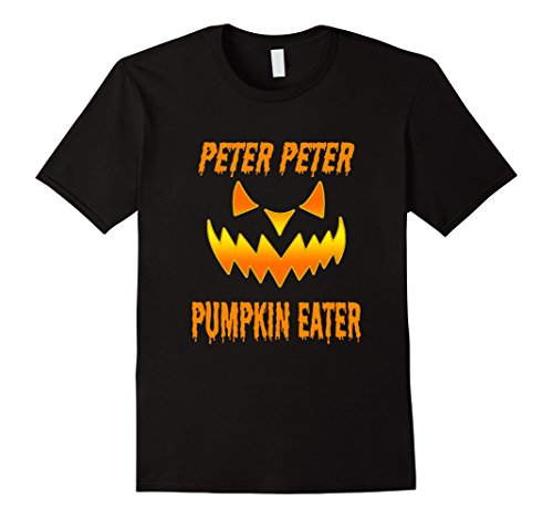 Mens Peter Peter Pumpkin Eater Couples Halloween Costume T-shirt Medium (Peter Pumpkin Eater Costume)