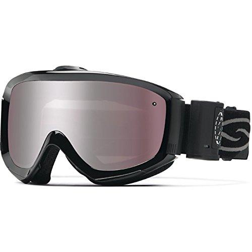Smith Optics Prophecy Turbo Fan Series Winter Sport Snowmobile Goggles Eyewear - Black/Ignitor / Medium by Smith Optics