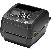 Zebra Technologies ZD50043-T21200FZ Series ZD500 Thermal Transfer Performance Desktop Printer, 300 DPI, USB/Serial/Centronics Parallel/Ethernet, Cutter, US Power Cord, Black