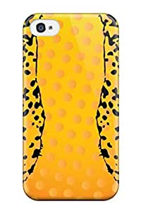 Lovers Gifts High Quality Durability Case For Iphone 4/4s Artistic Freevector Leopard Vector Graphics 5577648K53709010