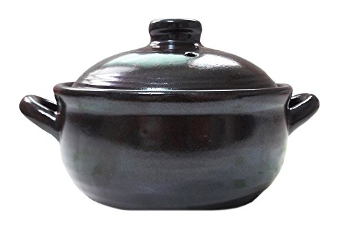 Korean Traditional Earthenware Hot Pot for Dolsot Bibimbap Stew Soup Boiled Dishes (Stoneware Soup Pot compare prices)